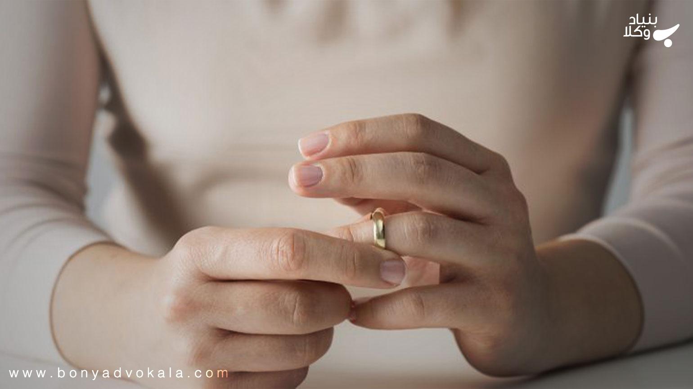 انواع طلاق و وضعیت حق رجوع در طلاق