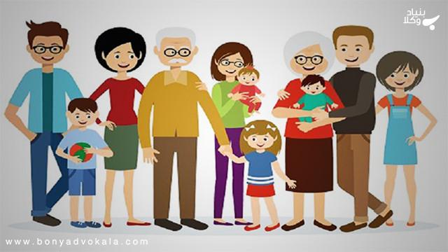 قرابت و خویشاوندی در قانون مدنی